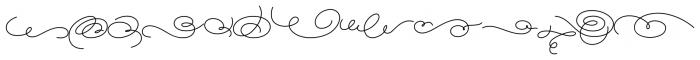 Magellan Ornates Font LOWERCASE
