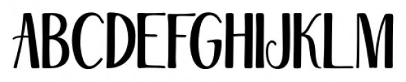 Magellan Regular Font UPPERCASE