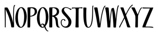 Magellan Regular Font LOWERCASE