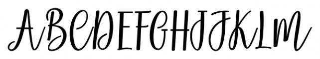 Magenta Script Regular Font UPPERCASE