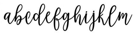 Magenta Script Regular Font LOWERCASE