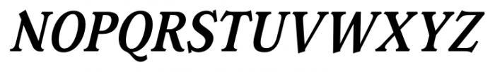 Magica Medium Italic Font UPPERCASE
