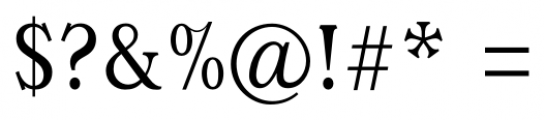 Magica Regular Font OTHER CHARS