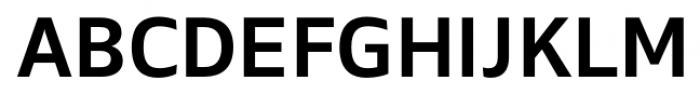 Maiden Medium Font UPPERCASE