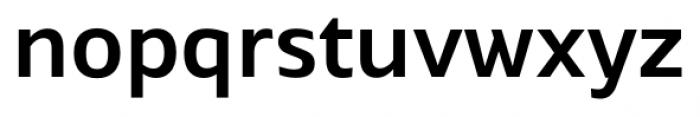 Maiden Medium Font LOWERCASE