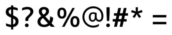 Maiden Regular Font OTHER CHARS