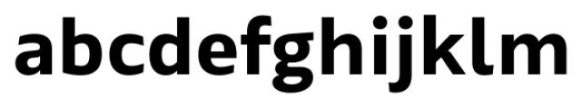 Maiden Semi Bold Font LOWERCASE