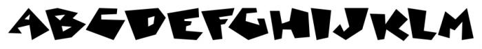 Mancave SRF Regular Font UPPERCASE