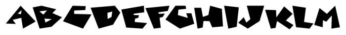 Mancave SRF Regular Font LOWERCASE