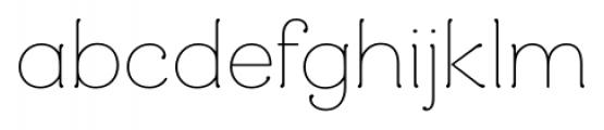 Mandevilla Regular Font LOWERCASE