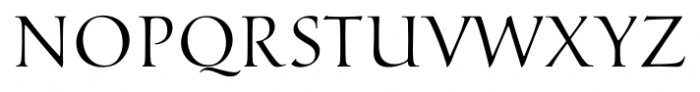 Marcus Regular Font UPPERCASE