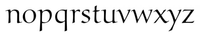 Marcus Regular Font LOWERCASE
