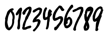 Marginal Notes SRF Regular Font OTHER CHARS