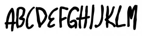 Marginal Notes SRF Regular Font UPPERCASE
