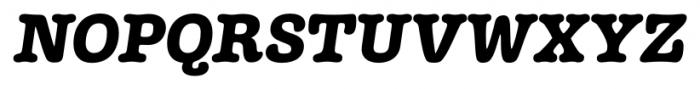 Margot Italic Font UPPERCASE
