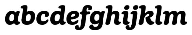 Margot Italic Font LOWERCASE