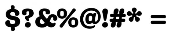 Margot Regular Font OTHER CHARS