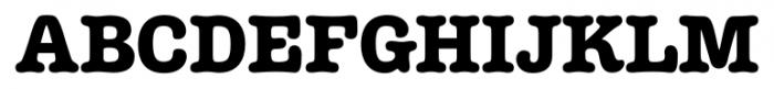 Margot Regular Font UPPERCASE