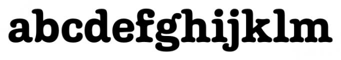Margot Regular Font LOWERCASE