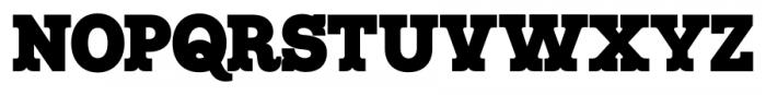 Maritime Champion Black Font LOWERCASE