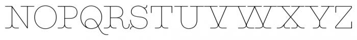 Maritime Champion Light Font UPPERCASE