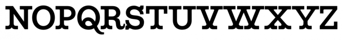 Maritime Champion SemiBold Font UPPERCASE