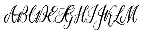 Marpesia Standard Regular Font UPPERCASE