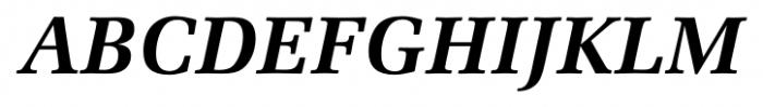 Marseille Bold Italic Font UPPERCASE