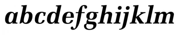 Marseille Bold Italic Font LOWERCASE