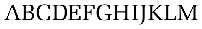 Marseille Regular Font UPPERCASE