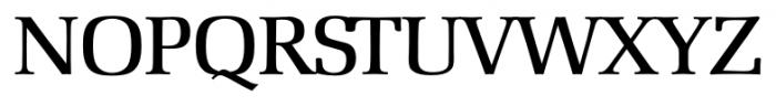 Marseille Serial Medium Font UPPERCASE