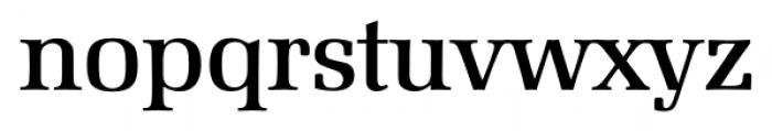 Marseille Serial Medium Font LOWERCASE
