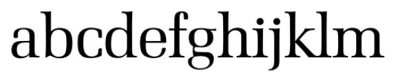 Marseille Serial Regular Font LOWERCASE