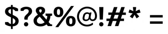 Martinithai Neue Slab Bold Font OTHER CHARS