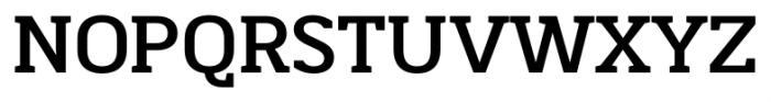 Martinithai Neue Slab Bold Font UPPERCASE