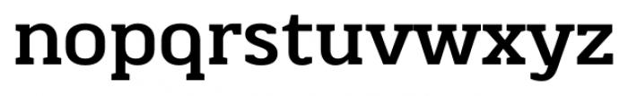 Martinithai Neue Slab Bold Font LOWERCASE