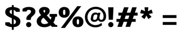 Martinithai Neue Slab Extra Bold Font OTHER CHARS