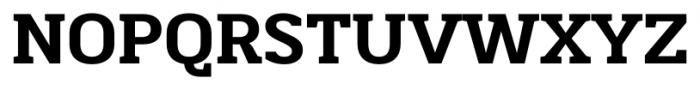Martinithai Neue Slab Extra Bold Font UPPERCASE