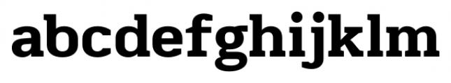 Martinithai Neue Slab Extra Bold Font LOWERCASE
