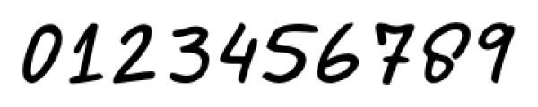Marvaloha Italic Font OTHER CHARS