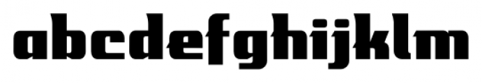 Mastermind BB Regular Font LOWERCASE