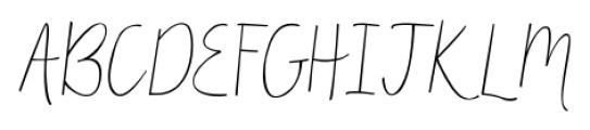 Matchmaker Regular Font UPPERCASE