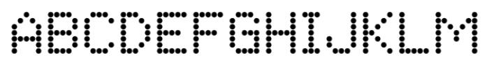 Matrise Text Pro Regular Font UPPERCASE