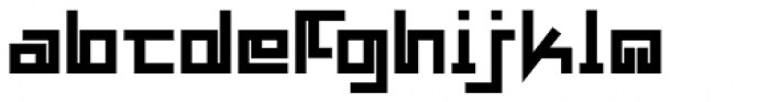 MANIFESTA Bold Font LOWERCASE