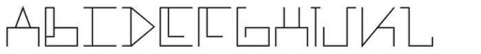 MANIFESTA Light Font UPPERCASE