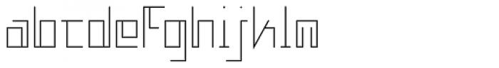 MANIFESTA Light Font LOWERCASE