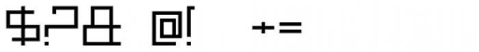 MANIFESTA Font OTHER CHARS