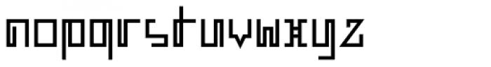 MANIFESTA Font LOWERCASE