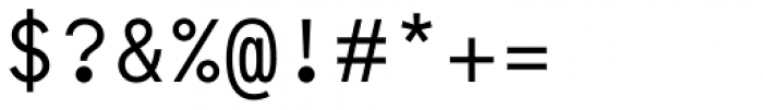 Maax Mono Font OTHER CHARS