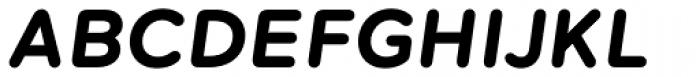 Maax Rounded Bold Italic Font UPPERCASE